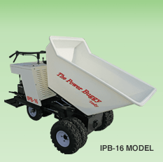 Quick ride-on concrete buggy and material mover - The Power