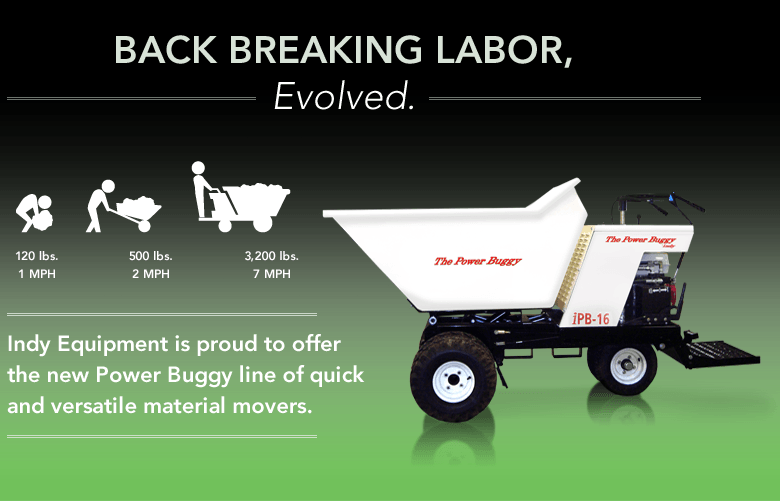 Back Breaking Labor, Evolved.